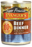 Evangers Super Premium Beef Dinner Canned Dog Food