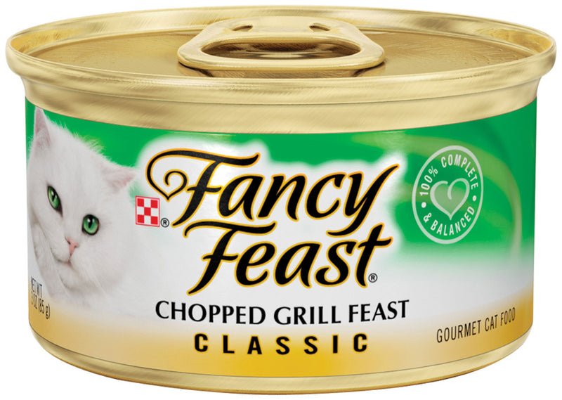 Fancy Feast Classic Chopped Grill Canned Cat Food
