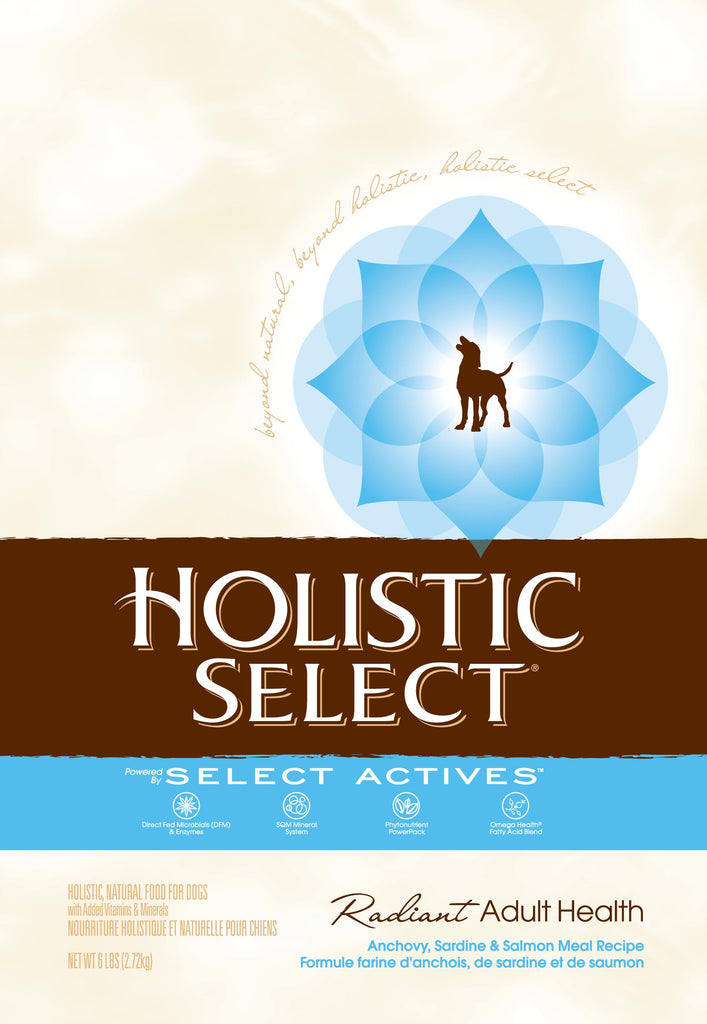 Holistic Select NaturalAnchovy, Sardine and Salmon Meal Recipe Dry Dog Food