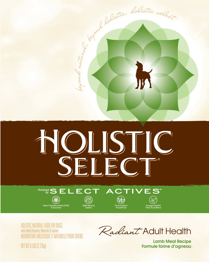 Holistic Select NaturalLamb Meal Recipe Dry Dog Food