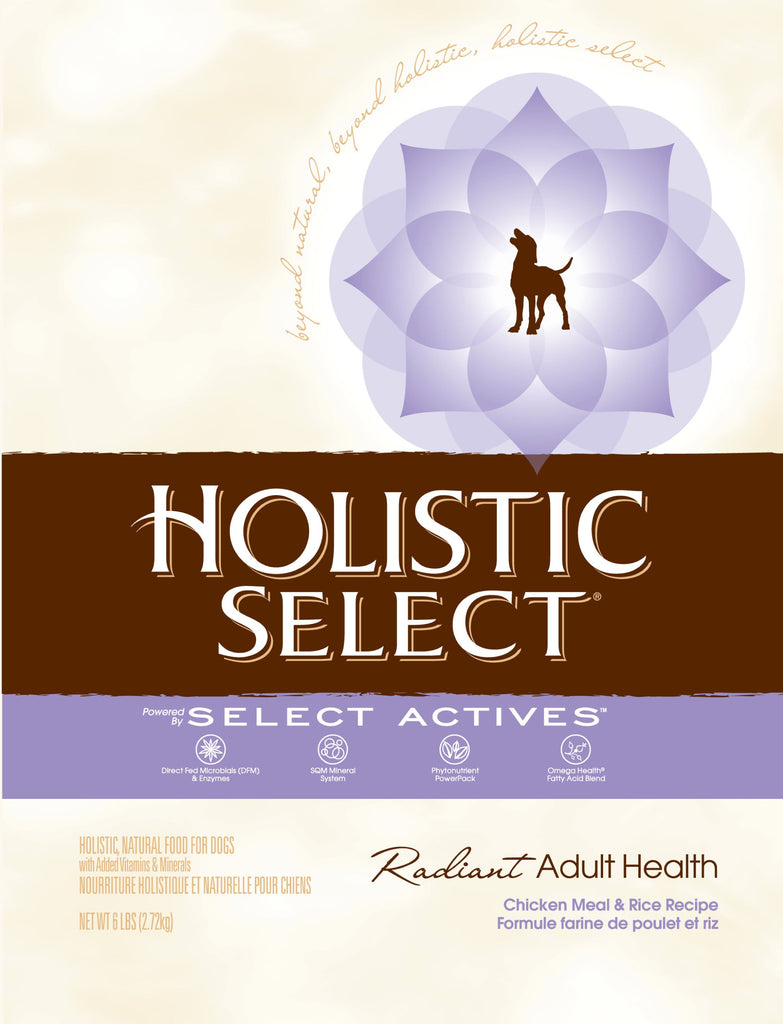 Holistic Select NaturalChicken Meal and Rice Recipe Dry Dog Food