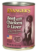 Evangers Classic Beef with Chicken And Liver Canned Dog Food