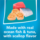 Friskies Tasty Treasures Prime Fillet with Ocean Fish & Tuna Scallop Flavor Canned Cat Food