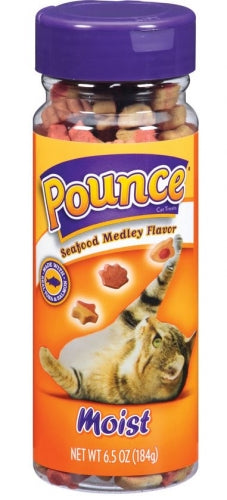 Pounce Seafood Medley Cat Treats