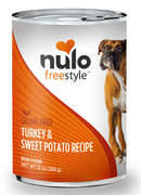 Nulo FreeStyle Grain Free Turkey and Sweet Potato Recipe Canned Dog Food