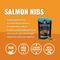 Vital Essentials Freeze Dried Wild Alaskan Salmon Vital Treats for Dogs
