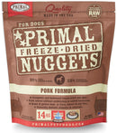 Primal Freeze-Dried Nuggets Grain Free Pork Formula Complete Diet Dog Food