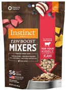 Instinct Raw Boost Mixers Grain Free Beef Formula Freeze Dried Dog Food Topper