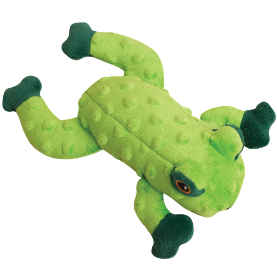 Snugarooz Lilly the Frog Plush Dog Toy