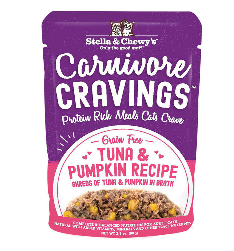 Stella & Chewy's Carnivore Cravings Tuna & Pumpkin Recipe Wet Cat Food