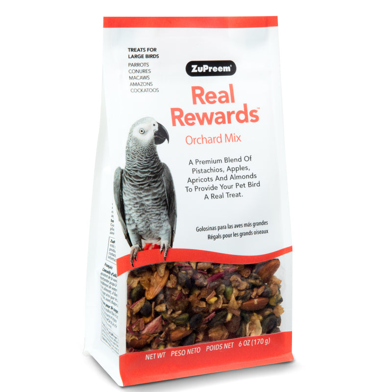 Zupreem Real Rewards Orchard Mix Treat for Parrots and Conures