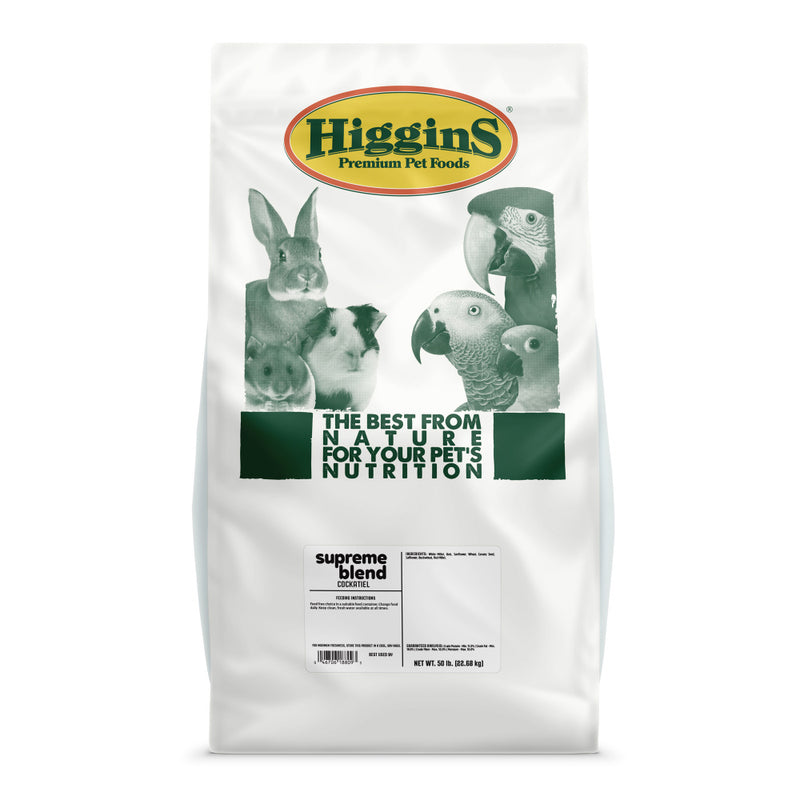 Higgins Supreme Blend Cockatiel Food