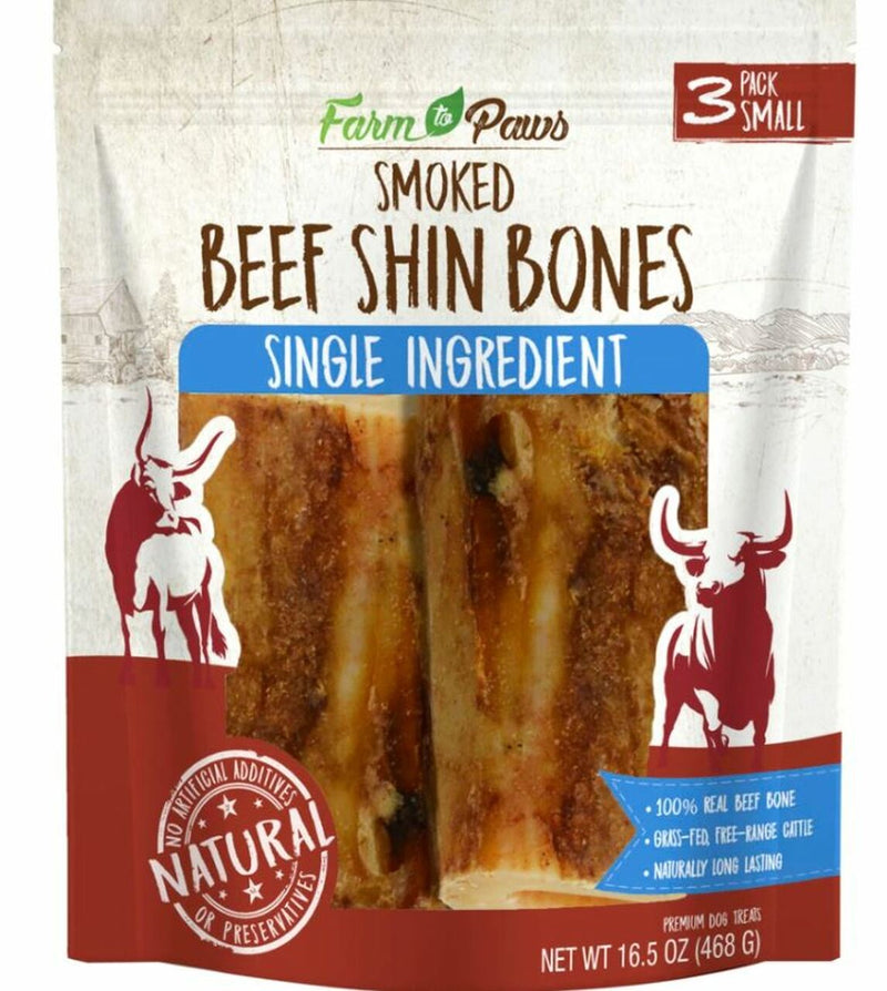 Cadet Farm To Paws Rib Shin Bone For Dogs Beef