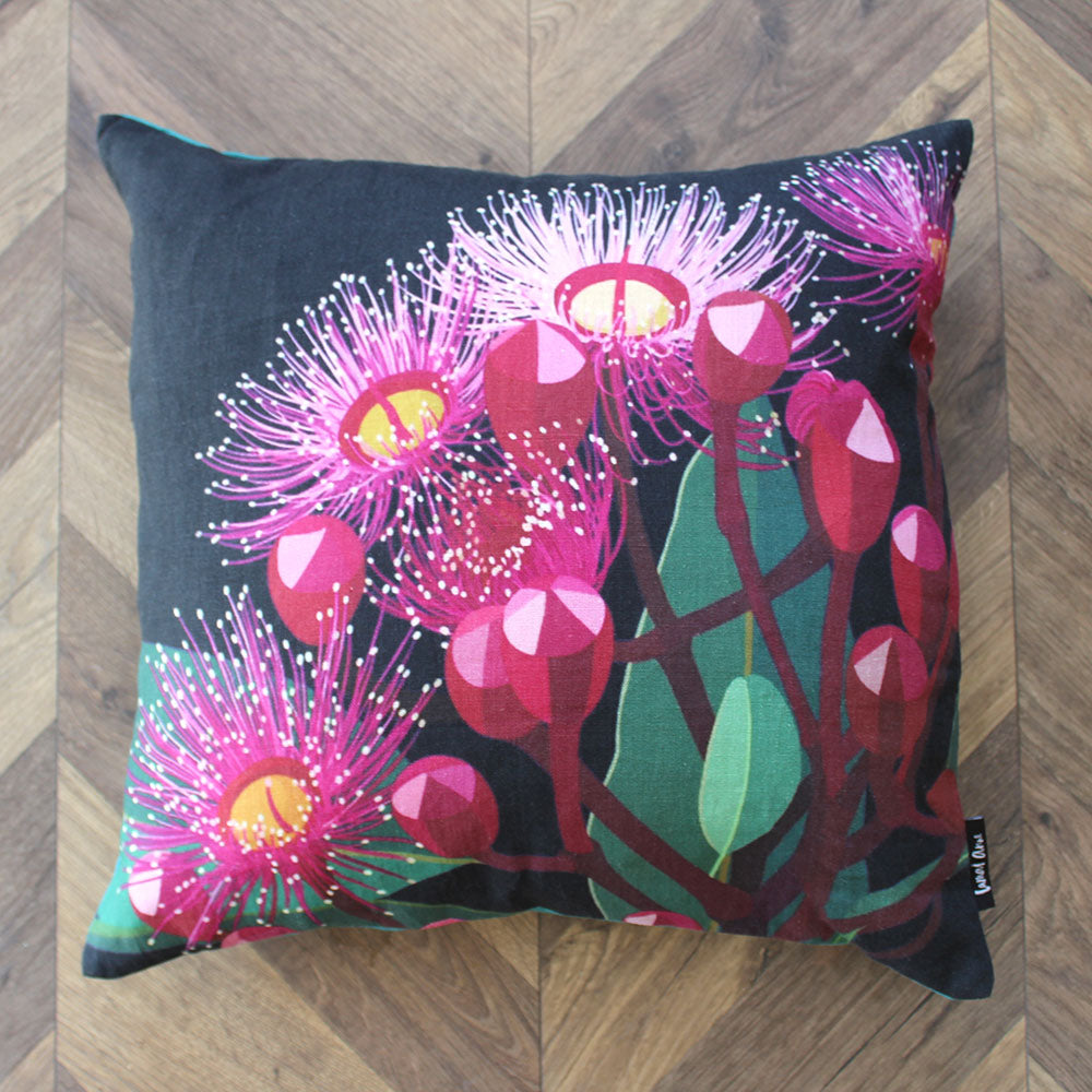 Flowering Gum Linen Cushion