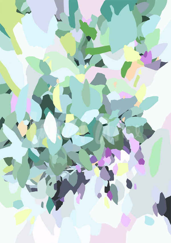 Gum Abstract Limited Edition Print