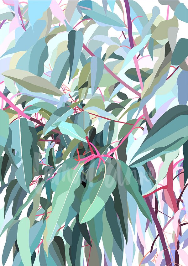 Gum Tree Limited Edition Print