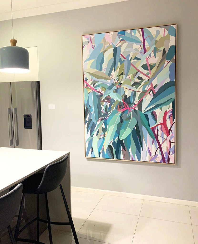 Gum Tree print on CANVAS