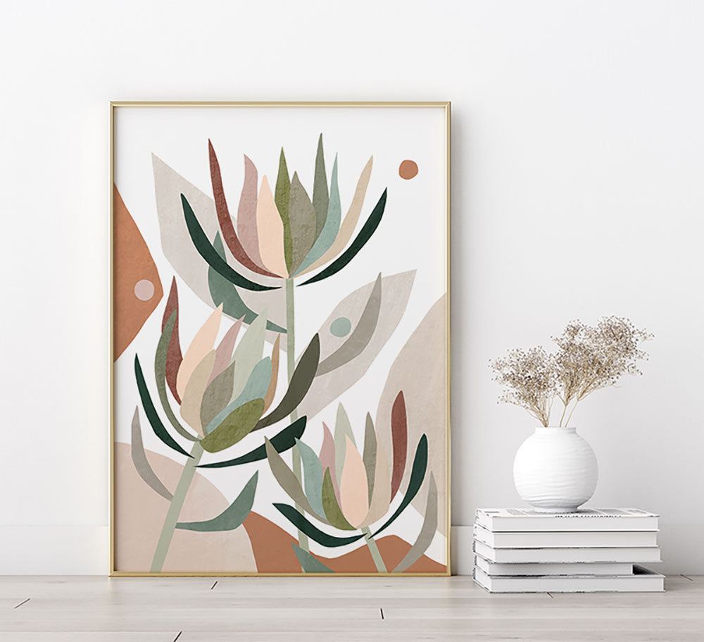 Leucodendron Abstract Fine Art Print