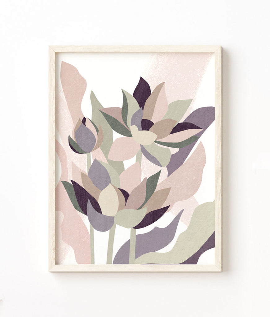 Lotus Abstract Fine Art Print