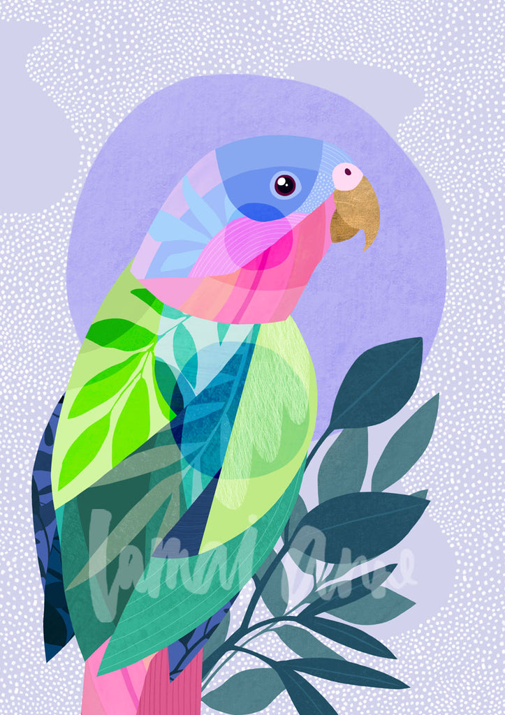 Princess Parrot Fine Art Print