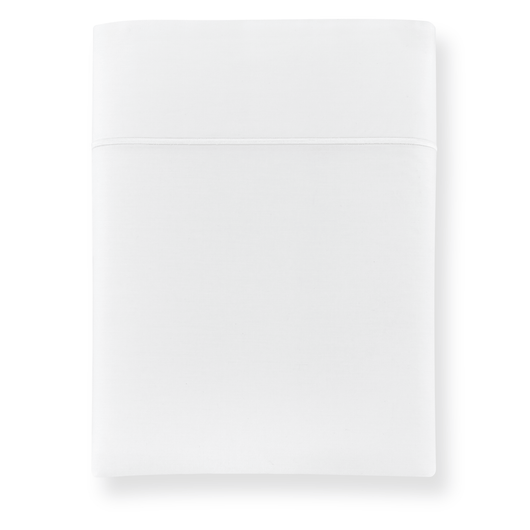 Boutique Embroidered Percale Flat Sheet