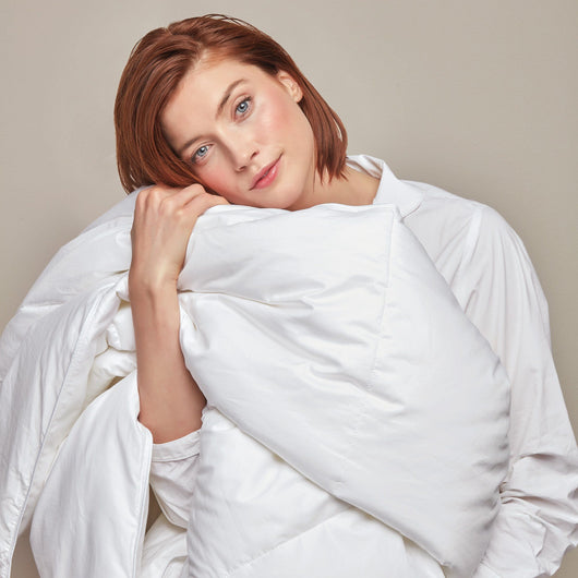 White Goose Down Duvet
