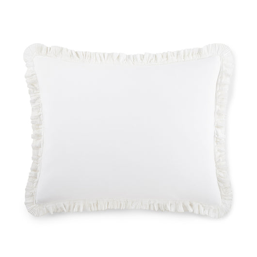 Ellie Ruffled Washed Percale Shams