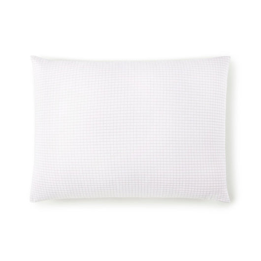 Grid Berry Percale Sleeping Sham