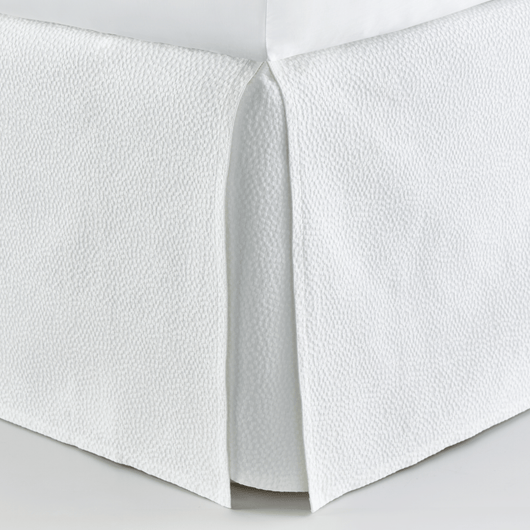 White Montauk Matelassé Bed Skirt