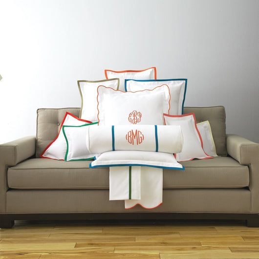 Pique Tailored Throw Pillow