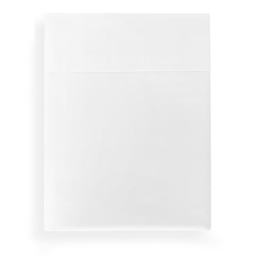 SUPIMA® 45 Percale Flat Sheet white