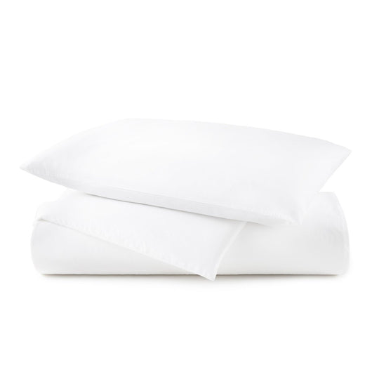 40 winks white washed percale duvet cover