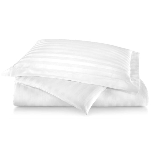 Duet II Striped Sateen Duvet Cover