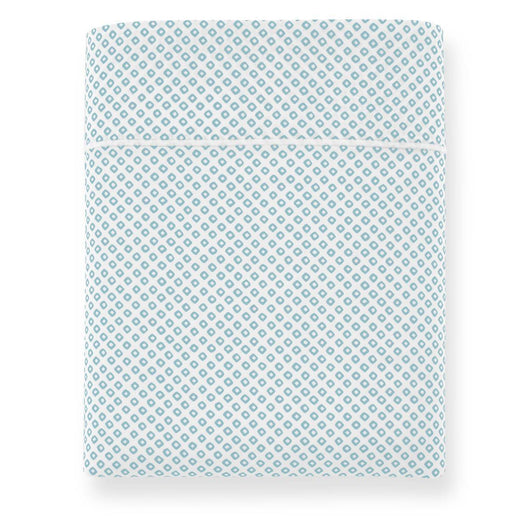 Emma Printed Sateen Flat Sheet