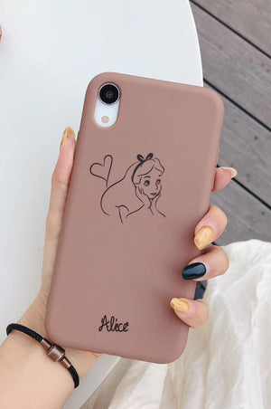 "Carcasa iPhone ""Alice"""