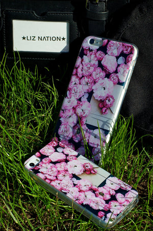 carcasa ROSE con motivos otoñales para iphone 7 y 7 plus disponible en liz nation