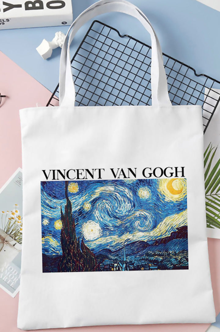 Bolsa Tote Van Gogh THE STARRY NIGHT
