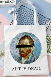 Bolsa Tote Van Gogh ART IS DEAD