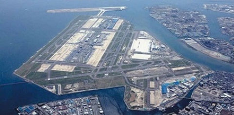 Haneda Airport Bird's Eye