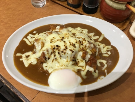 Japanese curry cheese