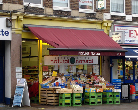 Japanese shop in London (Natural Natural) - Tokyo Direct