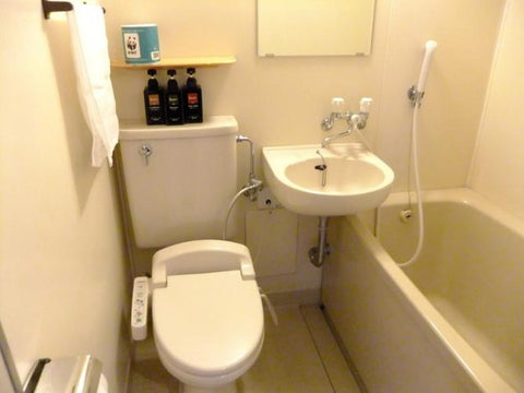 Japanese business hotel - unit bath