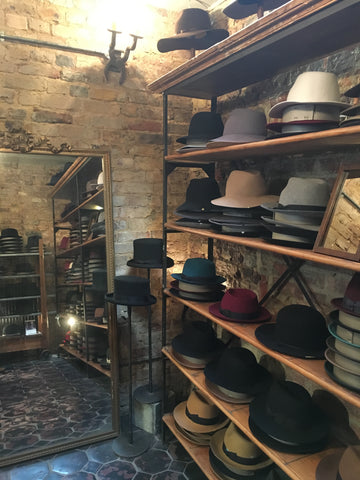 CA4LA is Japanese hat shop in Shoreditch