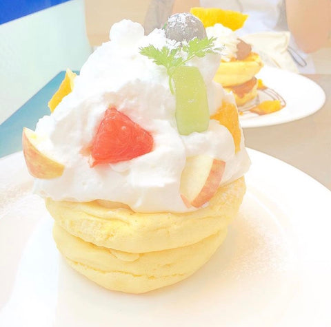 Seasonal Fruits Pancake