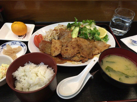 Pork Ginger Meal at Nanbu-tei - Japanese restaurant in London (Tokyo Direct)