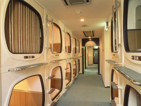 Japanese business hotel - capsule hotel