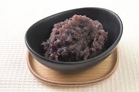 Anko is read bean paste. Most popular traditional and commonly used for Japanese sweets.