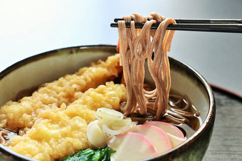 Soba noodle on New Year's Eve in Japan