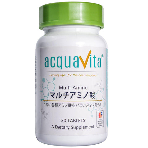 Acquavita Multi amino Acids (30 tablets) acquavita(アクアヴィータ) マルチアミノ酸 30粒 Life Tokyo Direct