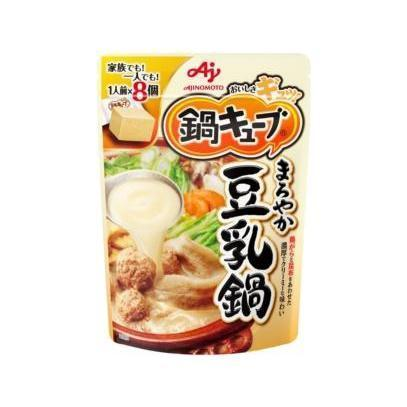 Image of Ajinomoto Cube Hotpot Soup Base 味の素鍋キューブ Food Mild Soy Milk Tokyo Direct